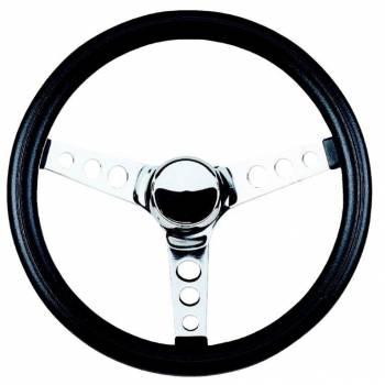 """Grant Steering Wheels - Grant Classic Series Steering Wheel - 13 1/2"""" - Black / Chrome"""