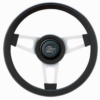 "Grant Steering Wheels - Grant Challenger Steering Wheel - 13 3/4"" - Black / White"