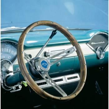 "Grant Steering Wheels - Grant Classic Nostalgia GM Steering Wheel - 15"" - Walnut"