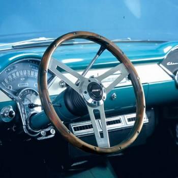 """Grant Steering Wheels - Grant Classic 5 Steering Wheel - 14 1/2"""" - Walnut"""