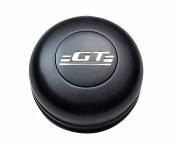 GT Performance - GT Performance GT3 Standard GT Emblem Engraved Horn Button-Black