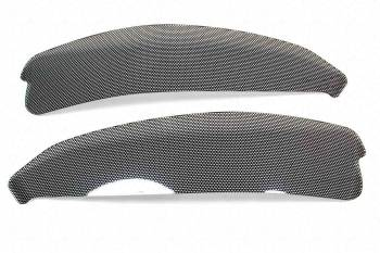 GT Styling - G.T. Styling (Special Order Only) Turn Signal Headlight Cover Plastic Carbon Fiber Look Chevy Corvette 1997-2003 - Pair