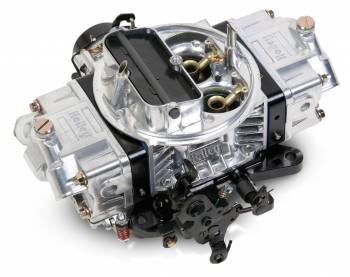 Holley Performance Products - Holley 850 CFM Ultra Double Pumper Carburetor - Silver/Black