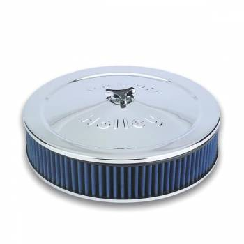 """Holley Performance Products - Holley Power Shot Air Cleaner - For Holley 4150/4160 Carburetors w/ 5-1/8"""" Diameter Neck"""