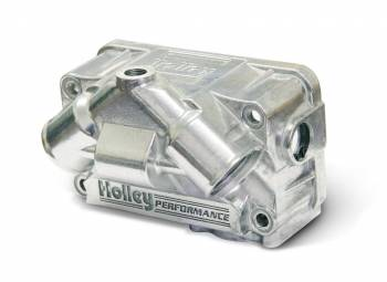 Holley Performance Products - Holley Primary V Fuel Bowl - Aluminum w/ Clear Sight Glass