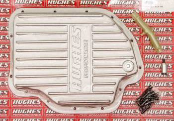 Hughes Performance - Hughes Aluminum Transmission Pan Deep GM TH400