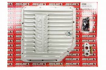 Hughes Performance - Hughes Aluminum Transmission Pan Deep GM TH350