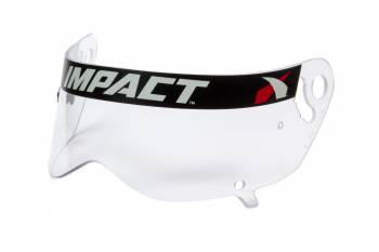 Impact - Impact Anti-Fog Shield - Clear - Fits Mini Champ