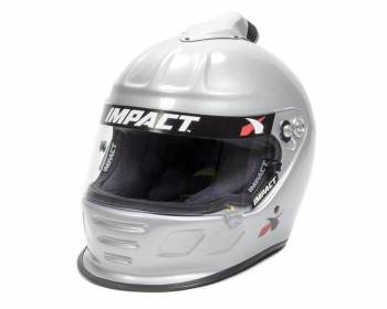 Impact - Impact Air Draft Top Air Helmet - Large - Silver