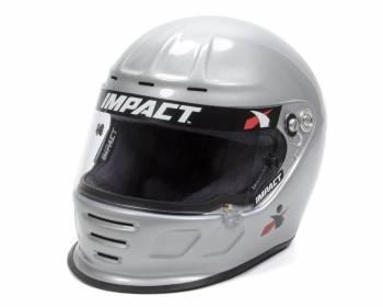 Impact - Impact Air Draft Top Air Helmet - X-Large - Silver