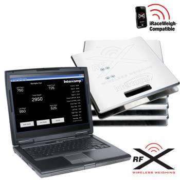Intercomp - Intercomp SW787 PC Wireless Scale System (PC Not Included)