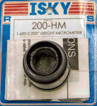 "Isky Cams - Isky Cams 1.600-2.100"" Range Valve Spring Height Gauge 0.001"" Scale"
