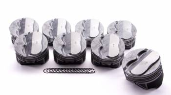 "KB Performance Pistons - KB Pistons Performance Claimer Performance Series SB Chevy Dome Piston Set - 4.030"" Bore - 3.480"" Stroke - 5.700 Rod Length"