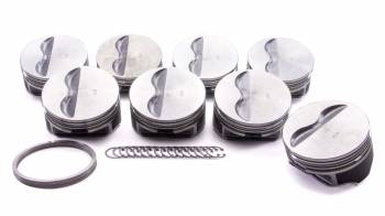"KB Performance Pistons - KB Performance Pistons Claimer Series Piston Hypereutectic 4.030"" Bore 1/16 x 1/16 x 3/16"" Ring Grooves - Minus 5.0 cc"
