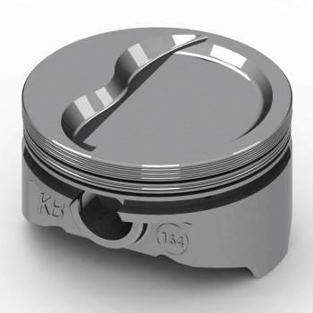 "KB Performance Pistons - KB Performance Pistons KB Series Piston Hypereutectic 4.040"" Bore 1/16 x 1/16 x 3/16"" Ring Grooves - Minus 19.0 cc"