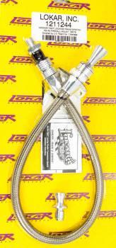 Lokar - Lokar Anchor-Tight Locking Flexible Transmission Dipstick - TH-700R4