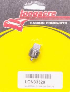 "Longacre Racing Products - Longacre Magnetic Drain Plug - 3/8"" NPT"