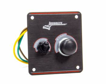 Longacre Racing Products - Longacre Ignition Panel Black
