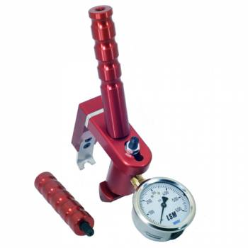 LSM Racing Products - LSM Racing Products Valve Seat Pressure Tester - Slant, Straight Removable Handle