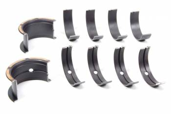 "Clevite Engine Parts - Clevite H-Series Coated Main Bearings - 1/2 Groove - .001"" Thinner Size - Tri Metal - SB Chevy - Set of 5"
