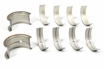 Clevite Engine Parts - Clevite P-Series Main Bearings - Main Bearings - P Series - 1/2 Groove - Standard Size - Tri Metal - SB Chevy - Set of 5