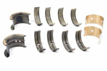 Clevite Engine Parts - Clevite H-Series Main Bearing Set - 283 Small Journal Into a 350 Large Journal - Tri Metal - Standard Size - Set of 5