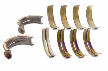 "Clevite Engine Parts - Clevite H-Series Main Bearings - 1/2 Groove - .010"" Undersize - Tri Metal - Ford - Modified - Set of 5"