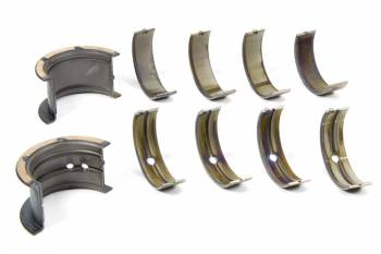 Clevite Engine Parts - Clevite H-Series Main Bearings - 1/2 Groove - Standard Size - Tri Metal - SB Chevy - Small Journal - Set of 5