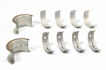 Clevite Engine Parts - Clevite P-Series Main Bearings - 1/2 Groove - Standard Size - Tri Metal - SB Chevy - Small Journal - Set of 5