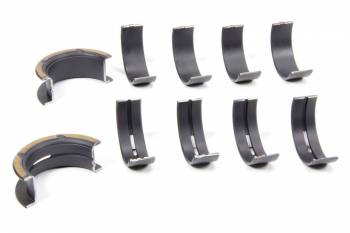 """Clevite Engine Parts - Clevite Coated H-Series Main Bearings - .010"""" Undersize - Tri Metal - Ford 221, 260, 289, 302 - Set of 5"""