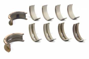 "Clevite Engine Parts - Clevite H-Series Main Bearings - 1/2 Groove - .001"" Thinner Size - Tri Metal - Ford - SB - Set of 5"