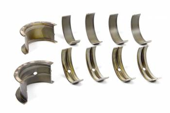 Clevite Engine Parts - Clevite H-Series Main Bearings - 1/2 Groove - Standard Size - Tri Metal - SB Chevy - Set of 5