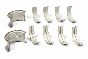 Clevite Engine Parts - Clevite P-Series Main Bearings - 1/2 Groove - Standard Size - Tri Metal - SB Chevy - Set of 5