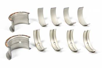 """Clevite Engine Parts - Clevite P-Series Main Bearings - 1/2 Groove - .020"""" Undersize - Tri Metal - SB Chevy - Set of 5"""