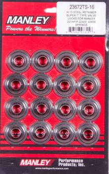 Manley Performance - Manley Super 7 H-13 Lwt Valve Spring Retainers