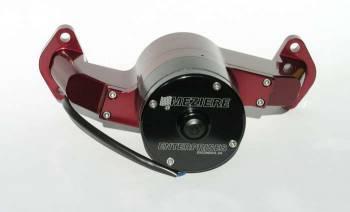 Meziere Enterprises - Meziere BB Chevy Billet Electric Water Pump - Red