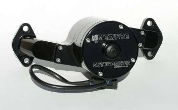Meziere Enterprises - Meziere BB Chevy Billet Electric Water Pump - Black