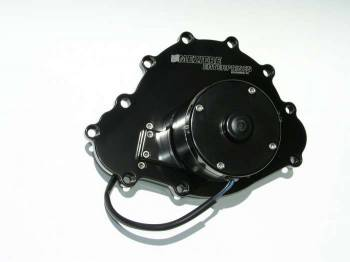 Meziere Enterprises - Meziere Pontiac Billet Electric Water Pump Black