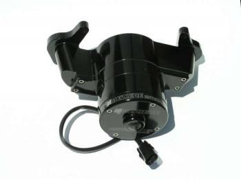Meziere Enterprises - Meziere Oldsmobile Billet Electric Water Pump - Black