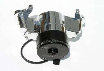 Meziere Enterprises - Meziere Oldsmobile 260-455 Electric Water Pump - Polished