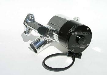 Meziere Enterprises - Meziere SB Chevy Billet Electric Water Pump - Hi-Flow - Polished