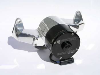 Meziere Enterprises - Meziere BB Ford Billet Electric Water Pump - Hi-Flow - Polished