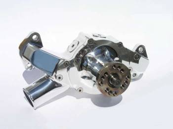 Meziere Enterprises - Meziere BB Chevy Billet Mechanical Water Pump - Polished