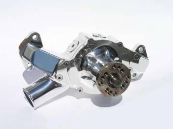 Meziere Enterprises - Meziere BB Chevy Billet Mechanical Water Pump - Polished