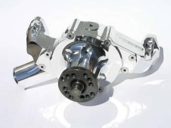 Meziere Enterprises - Meziere SB Chevy Billet Mechanical Water Pump - Polished