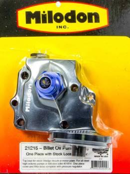 Milodon - Milodon Billet Oil Pump Cover & Filter Boss - Wedge
