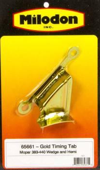 Milodon - Milodon BB Chrysler Timing Tab - Gold
