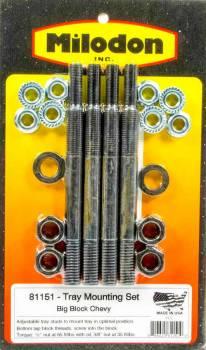 Milodon - Milodon BB Chevy Tray Install Kit