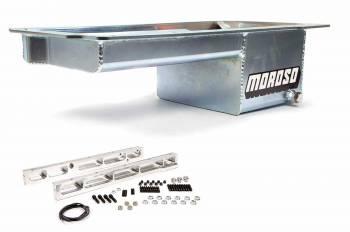 Moroso Performance Products - Moroso GM LS Series Street Strip Oil Pan - Dart LS Next Block
