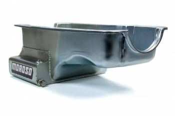 Moroso Performance Products - Moroso SB Ford 351W Front Sump Oil Pan w/ Kick-Out- 7 Qt.